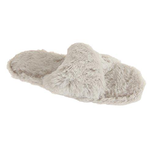 SlumberzzZ Pantofole morbide - Donna Grigio