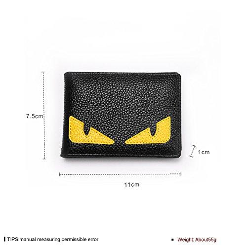Faysting EU donna portafoglio donna borsellino multi colori clamshell cartone simpatico stile buon regalo A
