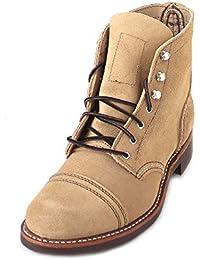 Red Wing Shoes Botas Militares de Piel Mujer
