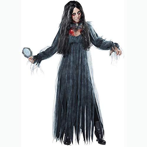 PHUJK - alloween Ghost Bride Zombie Kostüm Zombie Kostüm Maskerade Persönlichkeit Rollenspiel Kostüm - Alloween Kostüm
