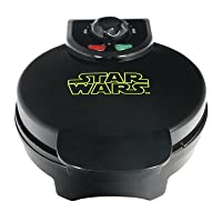 Add fun and a laser focus to your breakfast with this Star Wars Darth Vader Waffle Maker. It makes tasty waffles your way, with five temperature settings that let you make waffles quickly and easily. Whether you like them brown and crispy or ...