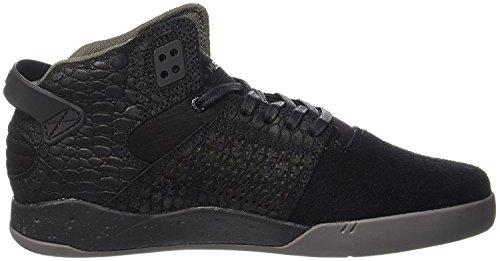 Supra Skytop S18091, Sneaker Uomo Noir / Noir / Charcoal