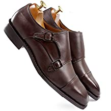 one8 Select Men's Brown Leather Shoe