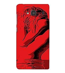 PrintVisa Cool Girl 3D Hard Polycarbonate Designer Back Case Cover for Xiaomi Redmi 2S