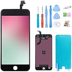 """Ibaye Écran iphone 6 4.7"""" Noir, LCD Écran Et numérique Remplacement avec Kit d'Outils De Réparation pour Remplacement Vitre iphone 6"""