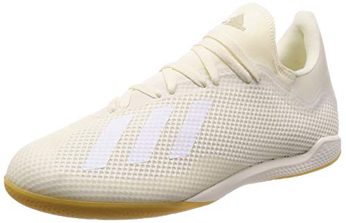 adidas X Tango 18.3 in, Scarpe da Calcetto Indoor Uomo, Bianco (Casbla/Ftwbla/Dormet 0), 39 1/3 EU