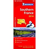 Southern France 2014 National Map 725 (Michelin National Maps)