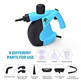 MLMLANT Handheld Pressurized Steam Cleaner with 11-Piece Accessory Set - Multi-Purpose and Multi-Surface