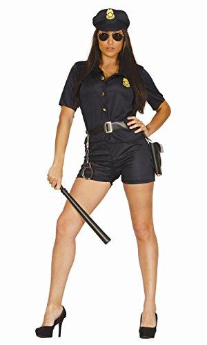 Leg Avenue  Polizei Hemd mit Krawatte 2 teilig  Zubehör  Karneval Halloween 2640