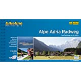 Alpe Adria Radweg.Von Salzburg an die Adria,410km, 1:50000, GPS-Tracks Download, wetterfest/reißfest
