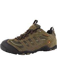 Hi-Tec Penrith Botas SMK WP con cordones para hombre Trail zapatos de senderismo gris/azul, multicolor, 10