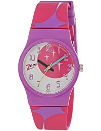 Zoop Analog Pink Dial Children's Watch -NLC3028PP08