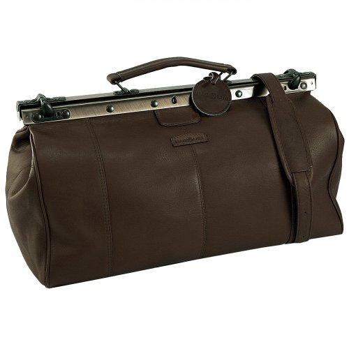 Harold's Country sac de médecin avec fermoir cuir 45 cm braun