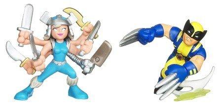 Marvel Super Hero Squad Wolverine vs Spiral [Toy]