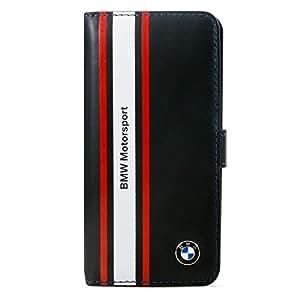 """BMW Motorsport BMFLHP6SN Etui en cuir pour iPhone 6/6S - 4,7"""" Bleu Foncé"""