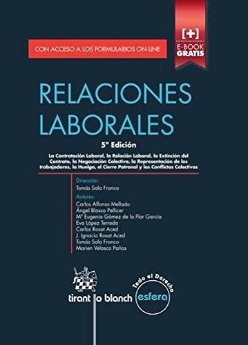 Relaciones Laborales 5ª Edición 2014 (Esfera)