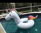 Integrity Co Aufblasbarer Einhorn Luftmatratzen. Aufblasbarer Einhorn Schwimmring Pool Floß (X-Large)