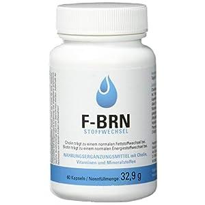 Vihado F-BRN Stoffwechsel für normalen Fettstoffwechsel und Energiestoffwechsel, 60 Kapseln