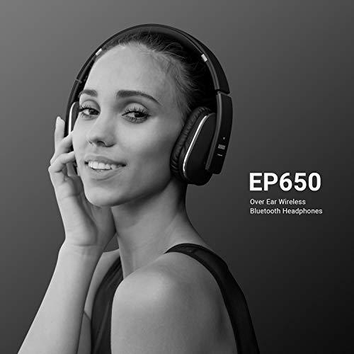 August EP650 – Bluetooth NFC Kopfhörer mit aptX Technologie, schwarz - 7