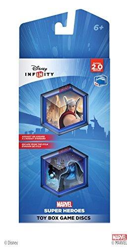 Disney Disney Infinity 2.0 : TOY BOX GAME Discs Marvel Super Heroes Spielekonsole, Spielfigur