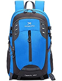 Melodycp Mochila para portátil, Bolsa de montañismo al Aire Libre Gran Capacidad Bolsa de 40