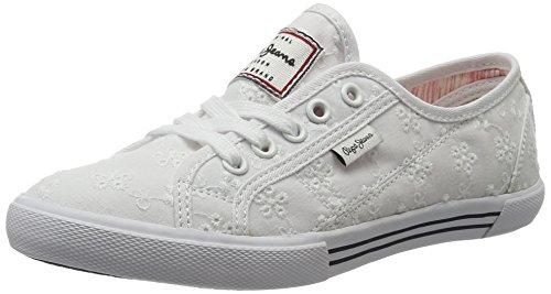 Pepe jeans london gable silver damen sneakers
