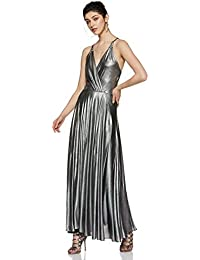 f419b8ed1f5 Amazon.in  Silvers - Dresses   Jumpsuits   Western Wear  Clothing ...