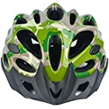 Cockatoo Professional Multi-Colour Cycling Helmet, Skating Helmet (Military:Green, Large)