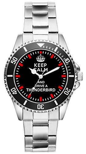 Geschenk für Ford Thunderbird Fans Fahrer Kiesenberg Uhr 1477