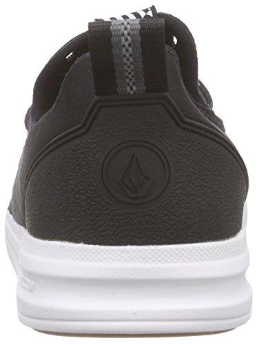 Volcom Draft Shoe Herren Skateboardschuhe Schwarz (Black Combo BLC)