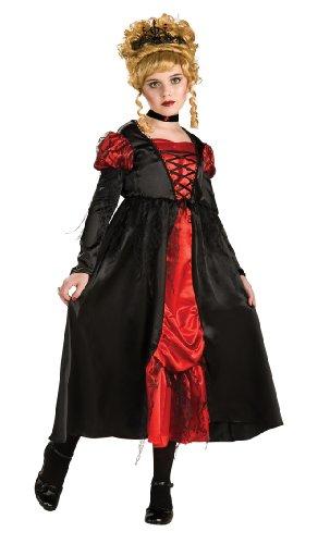Vampir Mädchen Kostüm für Kinder (Hübsch) Halloween Verkleidung Medium Medium