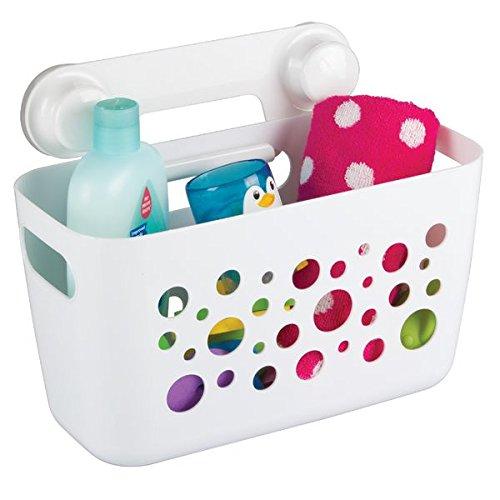 mdesign duschkorb fr kinder zum hngen die ideale duschablage fr shampoo schwmme rasierer und sonstiges duschzubehr aus robustem kunststoff ohne - Duschzubehor Zum Hangen