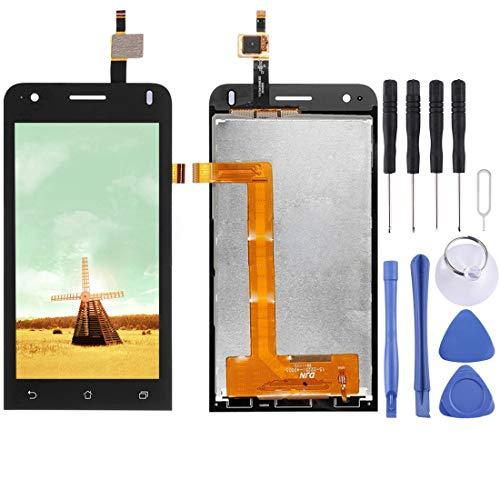 Zhangl Handy-LCD-Bildschirm LCD Screen und Digitizer Full Assembly für Asus Zenfone C (Schwarz) LCD Bildschirm (C Asus Zenfone)