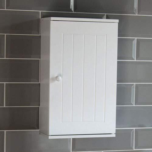 Bath Vida Priano Hängeschrank mit Tür, Bad, Badezimmer, Aufbewahrung