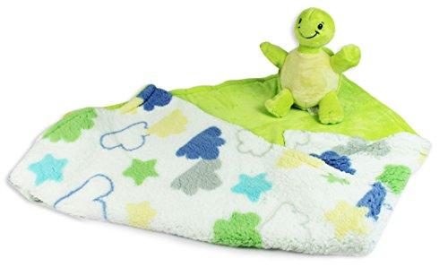baby-bedruckt-sherpa-decke-mit-plusch-spielzeug-turkis