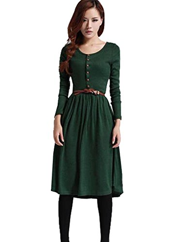 Mytom® 2014 Autumn And Winter Ladies Vintage Knitted Basic One-Piece Dress Plus Size Dresses Retail Spring Women'S Clothing