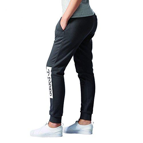 adidas Damen Regular Cuffed Trainingshose, Grau, Einheitsgröße Schwarz (negsom)