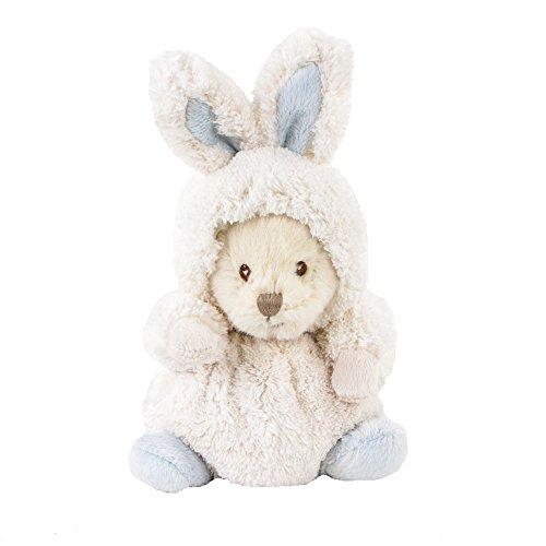 Bukowski Teddybär Ziggy mit Hasenkostüm weiß/blau 15 cm (Barbaren Baby Kostüm)