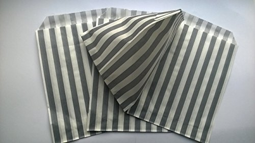 candy-striped-paper-party-sweet-loot-bags-5x7-inches-x-50-gray-silver