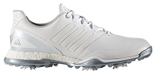 adidas Damen Adipower Boost Golfschuhe, Weiß (White/White/Matte Silver), 38 EU 40 EU