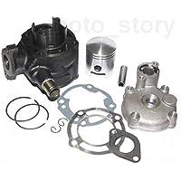 Unbranded 70 CCM Sport Racing Zylinder KIT Set KOMPLETT für Suzuki AY 50 Katana ab97 H2O Zylinderkit