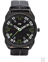 KILLER Analogue Black Dial Men's Watch - KLW220D