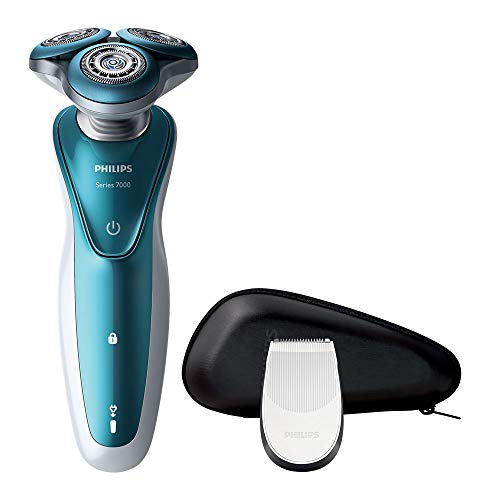 Philips Series 7000 Wet and Dry Men's Electric Shaver with Precision Trimmer (UK 2-Pin Bathroom Plug) - S7370/12