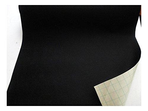 Fabrics-City % SCHWARZ KLEBEFILZE FILZ STOFF WOLLFILZ SELBSTKLEBEND STOFFE, 2734