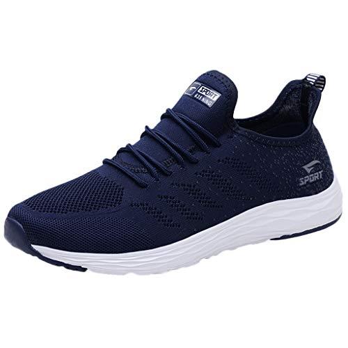 Herren Damen Sportschuhe, Laufschuhe Paar Fitnessschuhe Mesh Freizeitschuhe Breathable Schuhe Turnschuhe Fashion Sports Sneakers für Trainning Jogging Fitness Outdoor Schnürhalbschuhe
