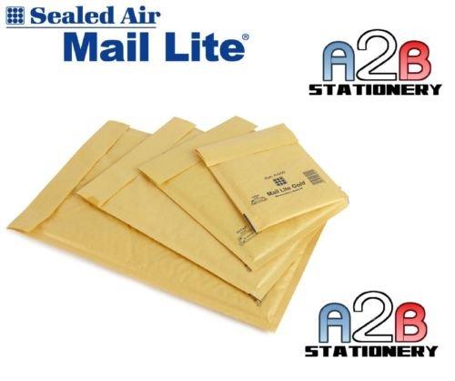 Featherpost Rembourrées Bubble Enveloppes Sacs Jiffy-qualité pochettes différentes tailles