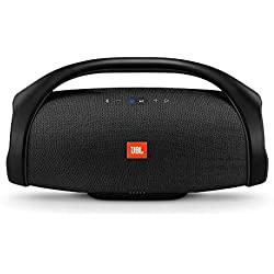 JBL Boombox - Enceinte Bluetooth portable - Son ultra puissant - Modes de son intérieur & extérieur - Autonomie 24 hrs - Étanche pour piscine & plage - Noir