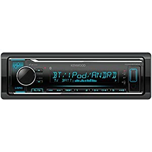 Kenwood KMM BT304 Digital Media Receiver with Bluetooth Handsfree Function and iPod Control Black