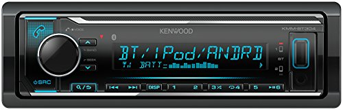 Bluetooth Kenwood (Kenwood KMM-BT304 Digital Media Receiver mit Bluetooth-Freisprecheinrichtung und Apple iPod-Steuerung schwarz)