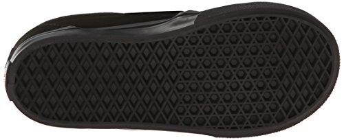 Vans SLIP-ON V, Low-Top Sneaker, Unisex Bambino Nero (Black/Black BKA)